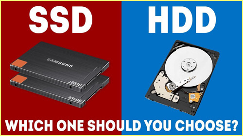 What are HDD and SSD?