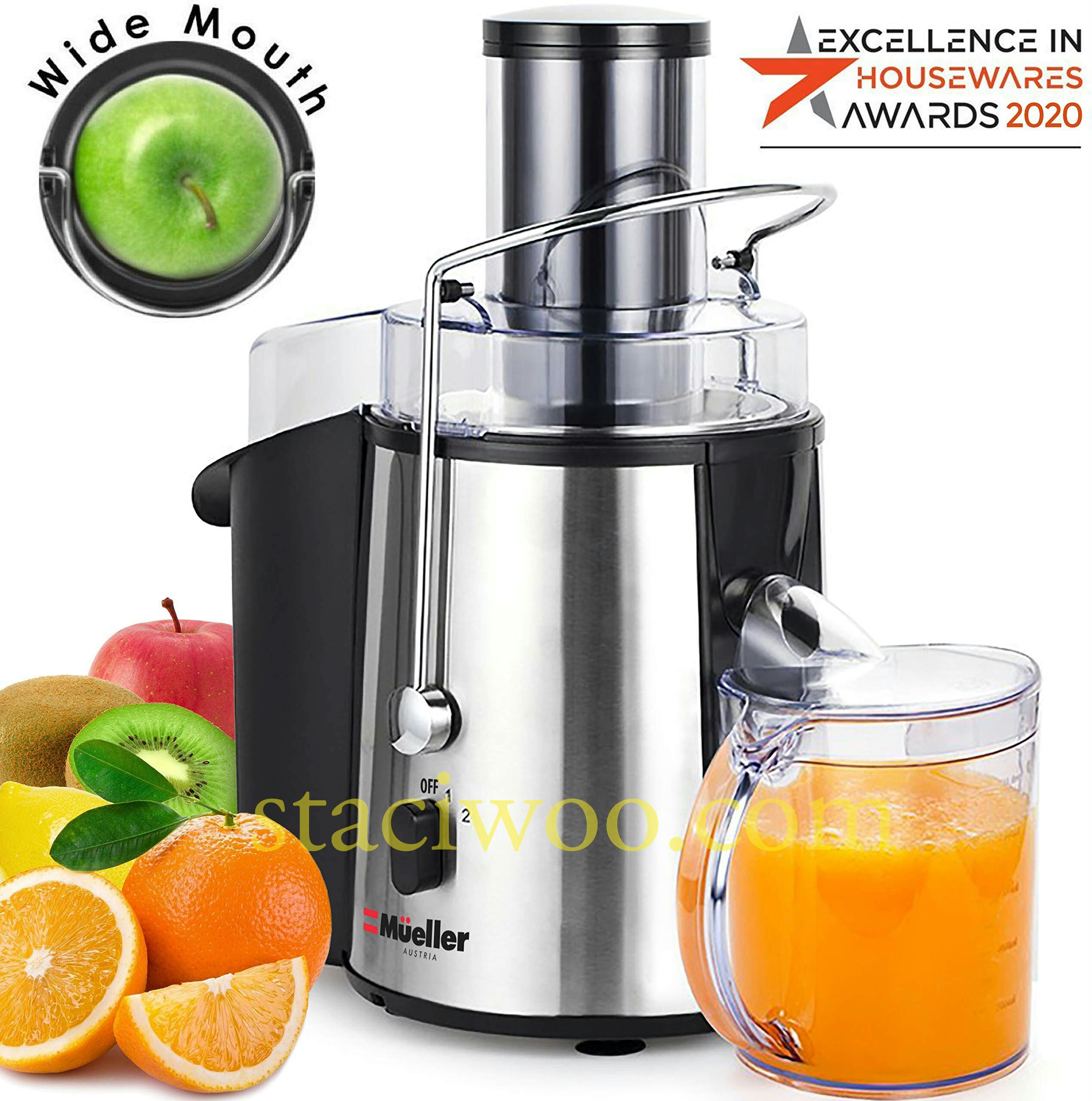 Mueller Austria juicer Ultra 1100W Power manual