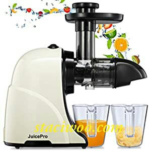 Kuvings B6000 Whole Slow Juicer with Smoothie Strainer