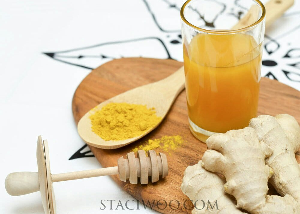 Ginger Juices of Healthy
