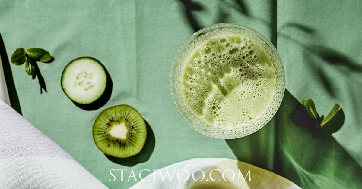 Do not chew your green juice