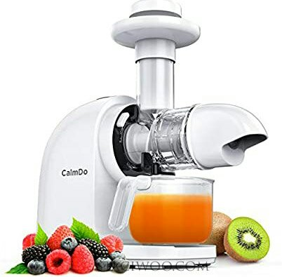 CalmDo Slow Juicer Extractor, Cold Press Juicer with Reverse Function
