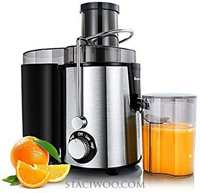 Sagnart Juicer Machines Centrifugal Juice Extractor for Whole Fruit and Vegetables